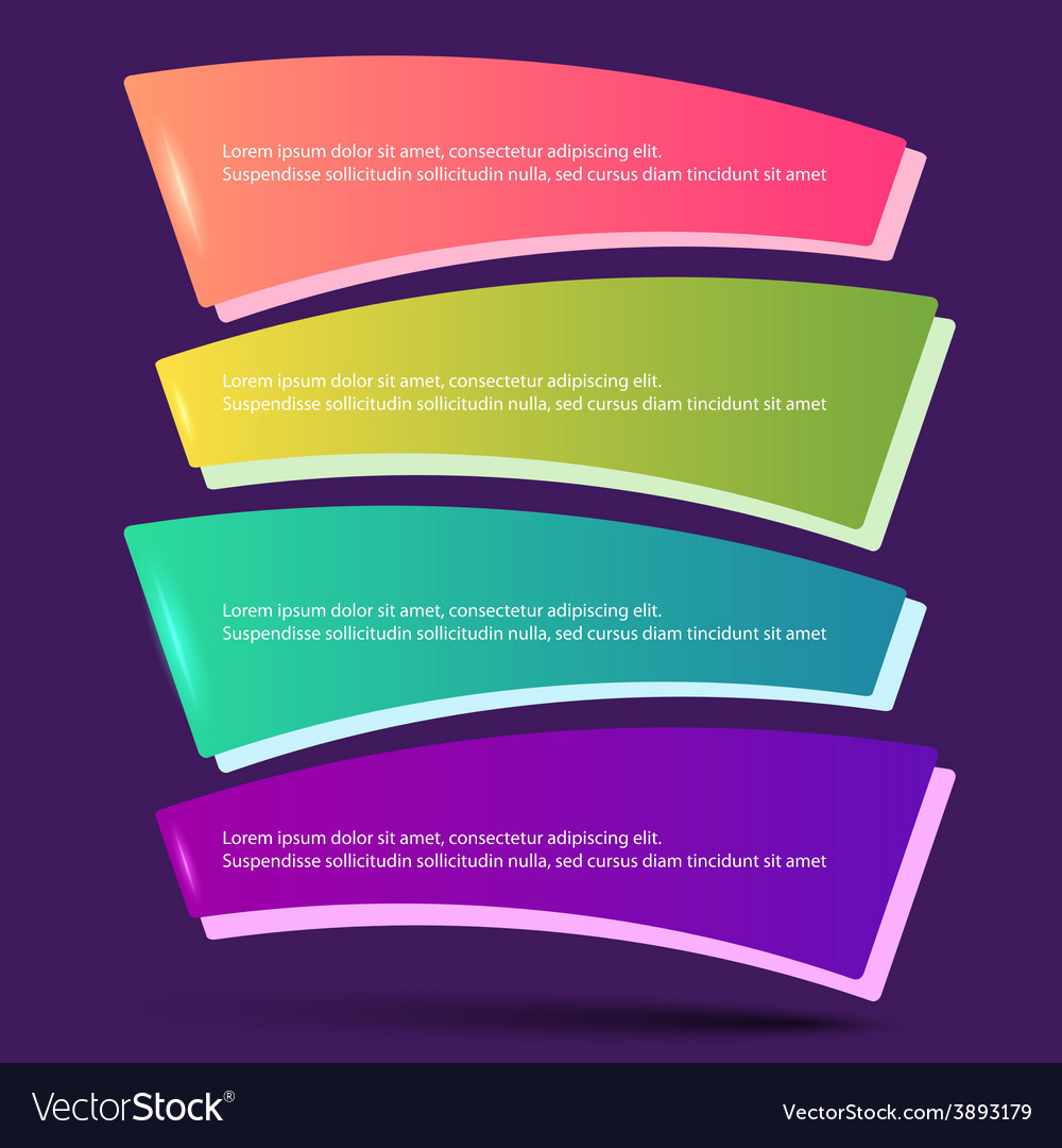 Infographics form options workflow purple vector image