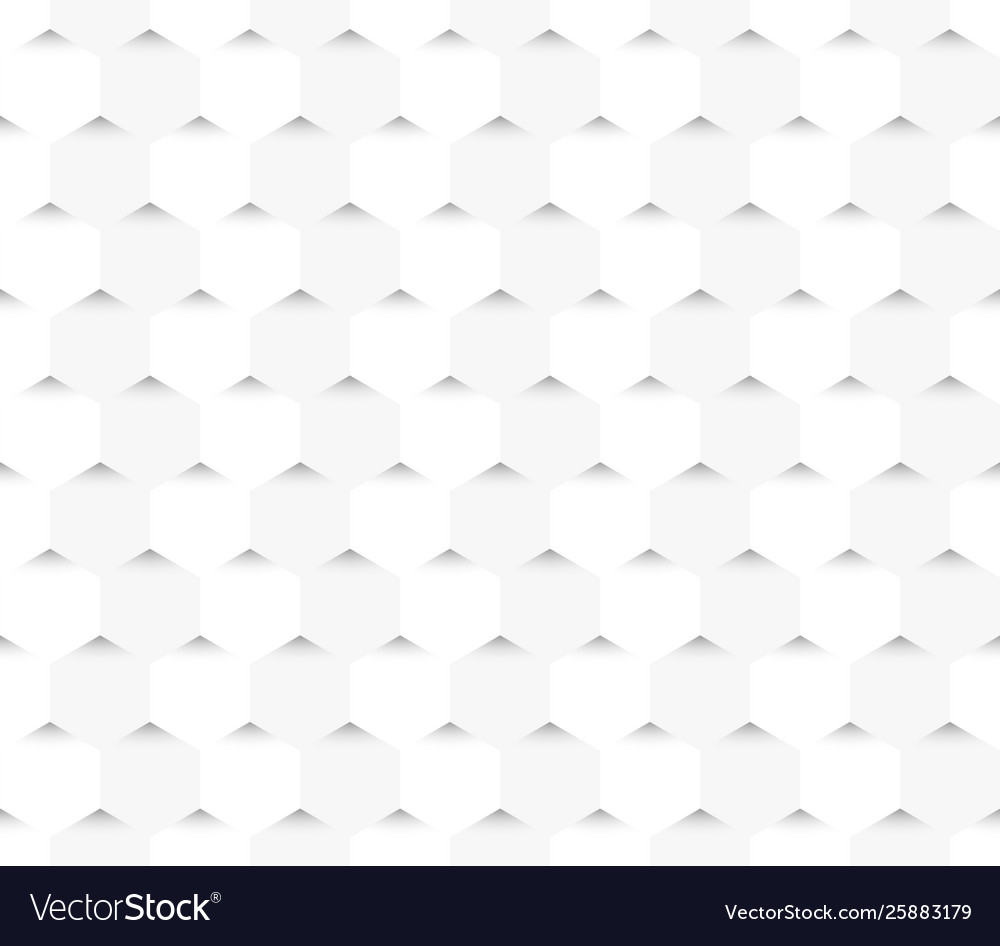 White geometric seamless pattern texture