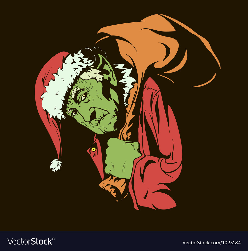 Evil Christmas Characters.Grinch Stole Christmas