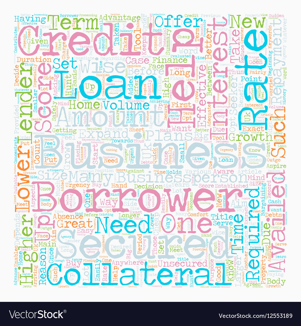 Business Loan An Effective Tool for Growth text
