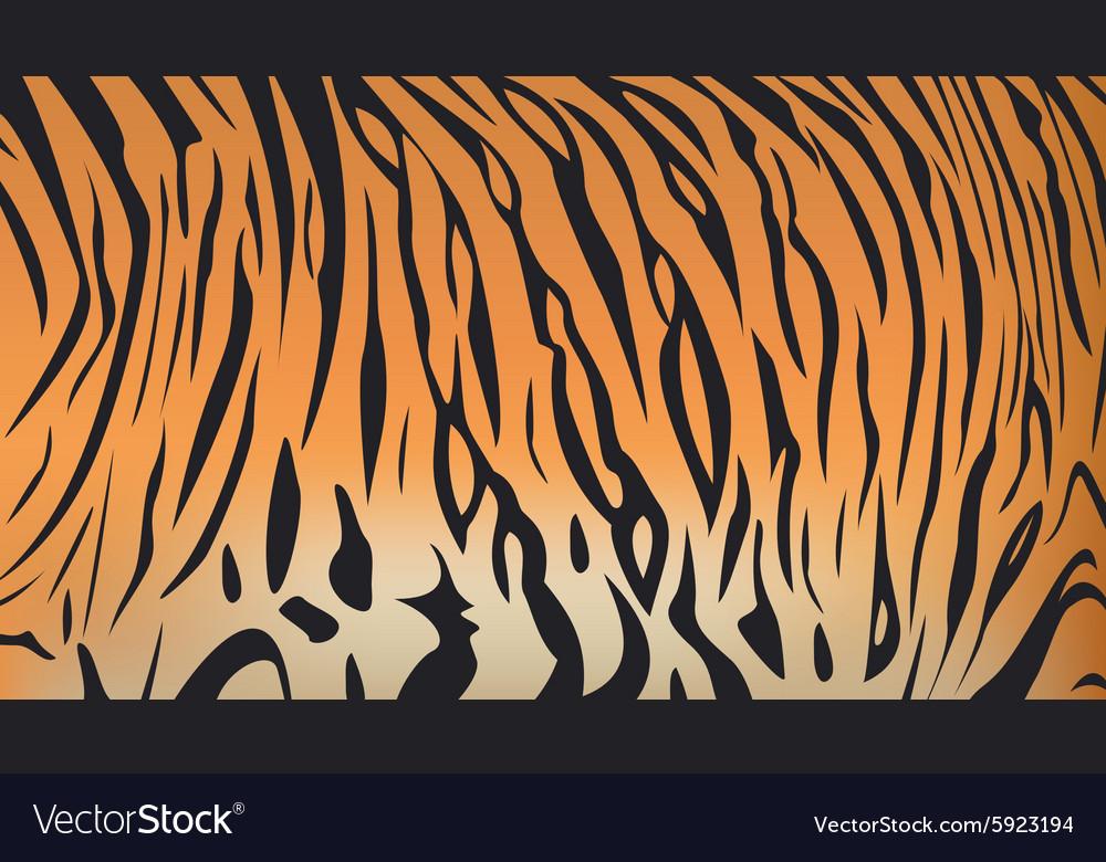 Bengal Tiger Stripe Pattern Royalty Free Vector Image Cool Tiger Pattern