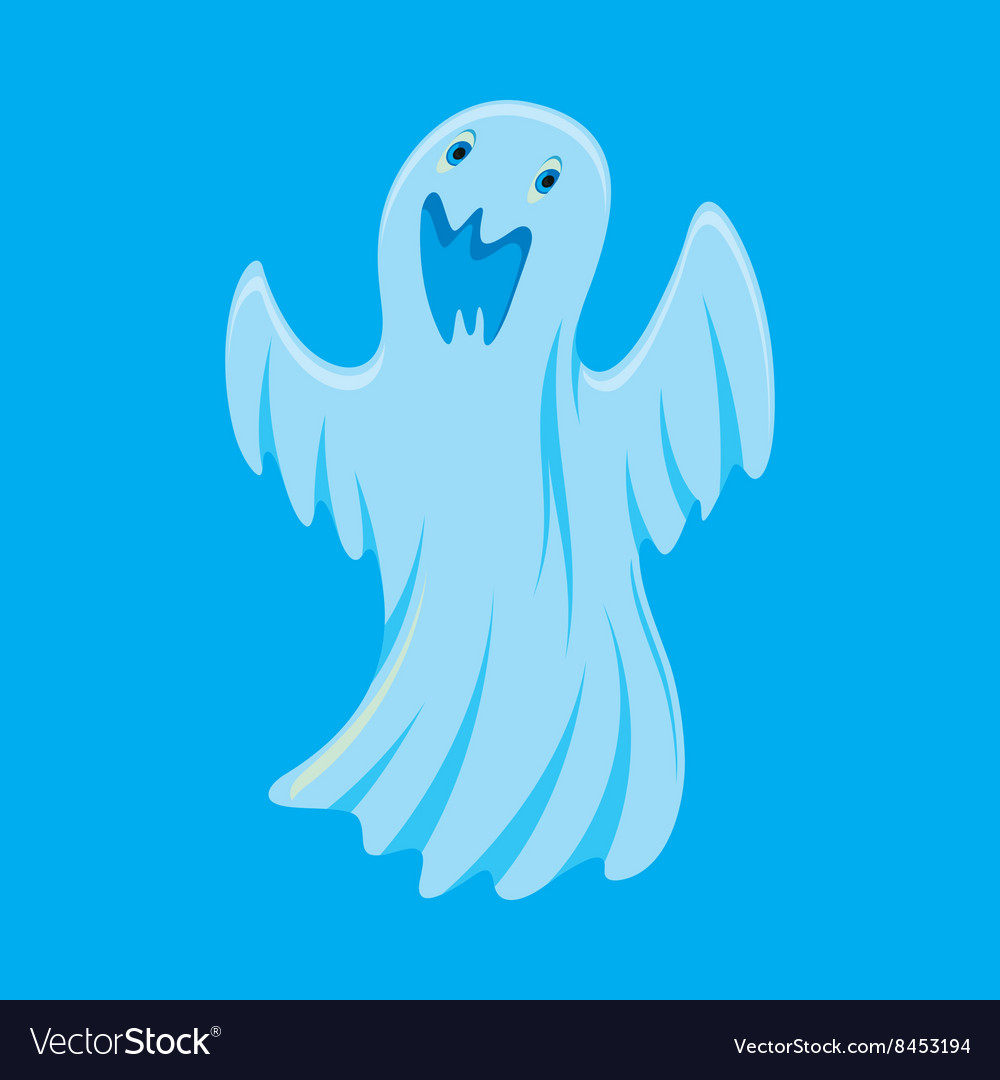 Ghost Cartoon Character