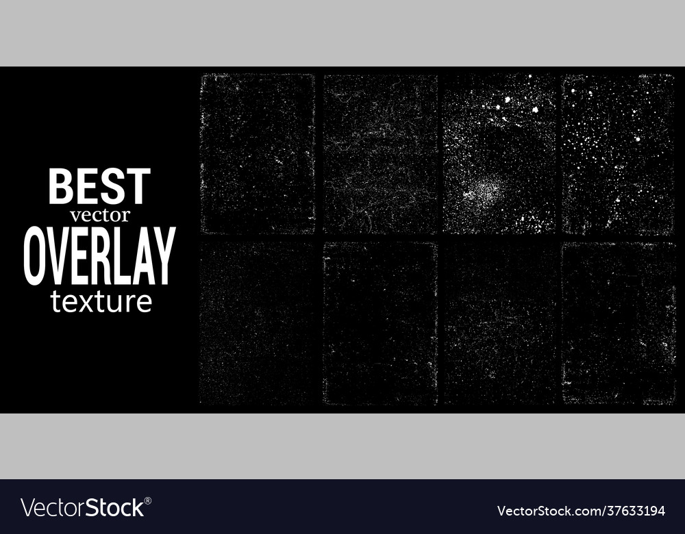 Overlays stamp texture with effect grunge damage