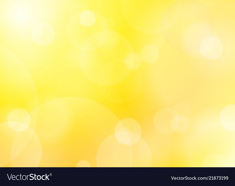 Abstract golden shine blured background