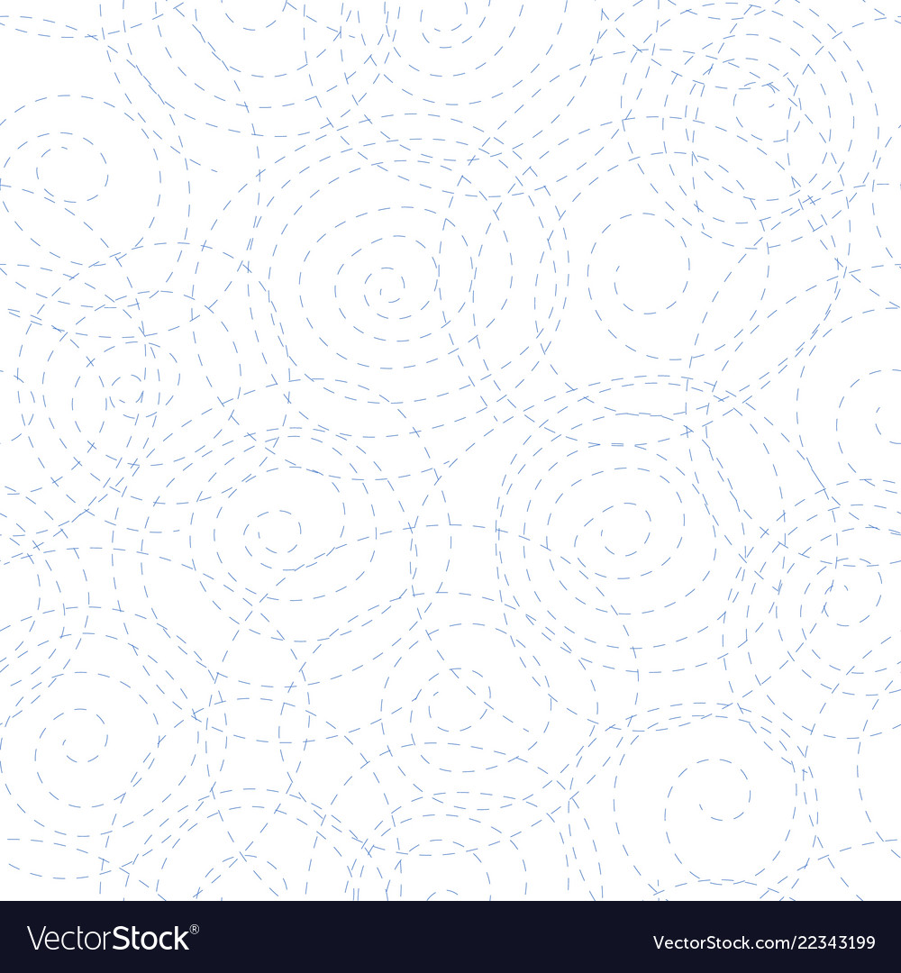 Black dotted spirals