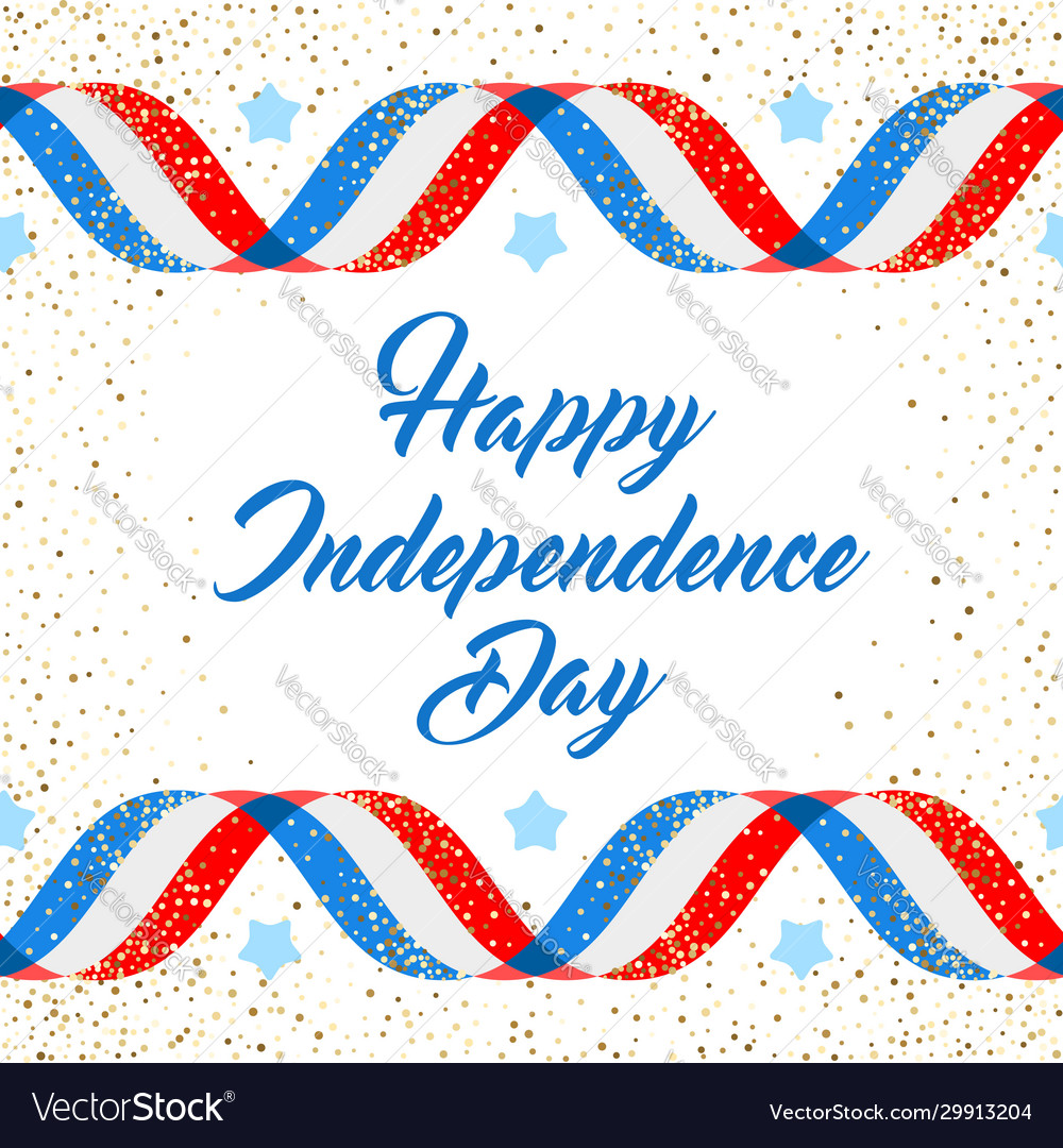 American independence day poster template 4th