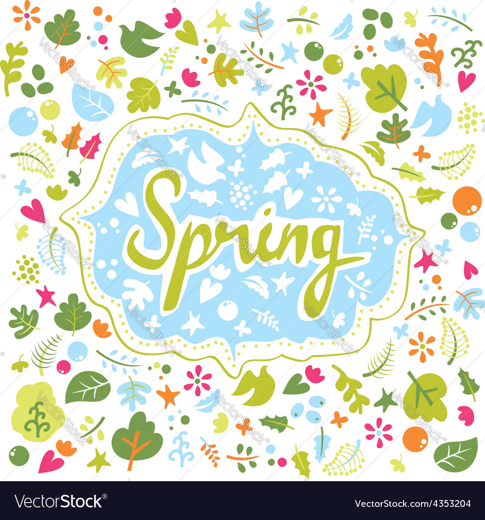 Card for spring