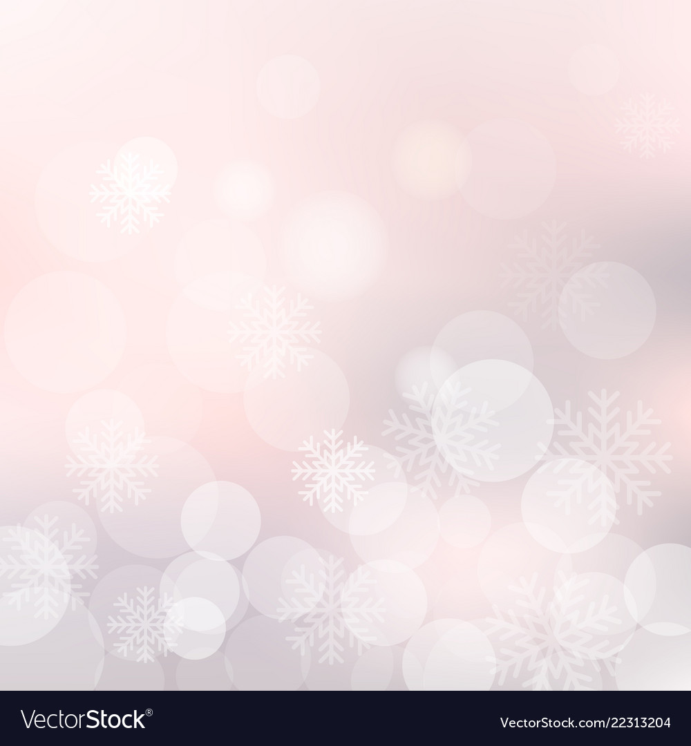 Christmas background with snowflakes and