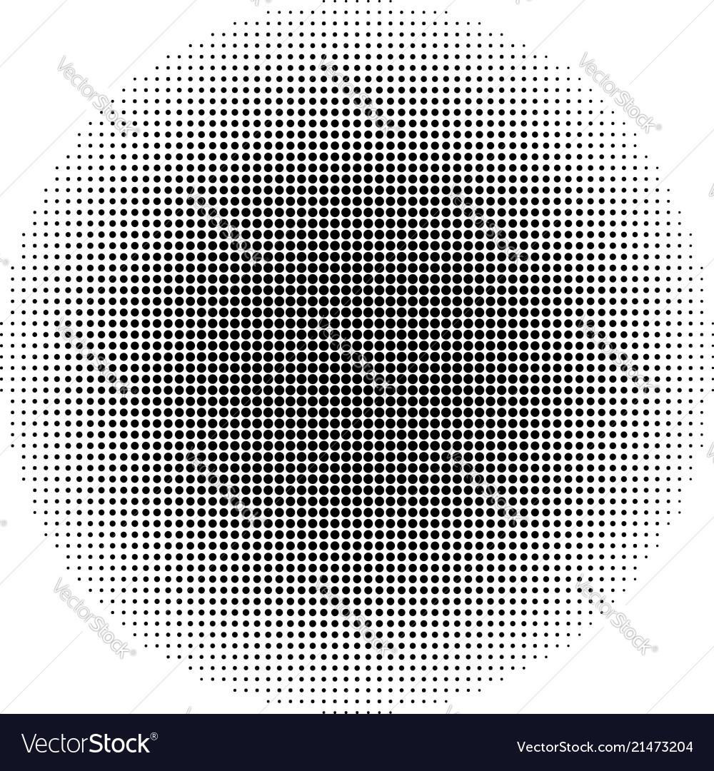 Halftone dots circle abstract dots background eps
