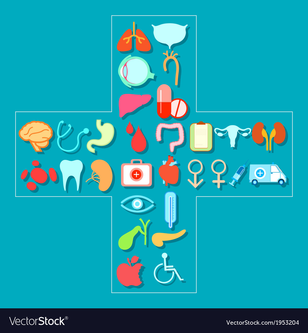 Healthcare and Medical vector image