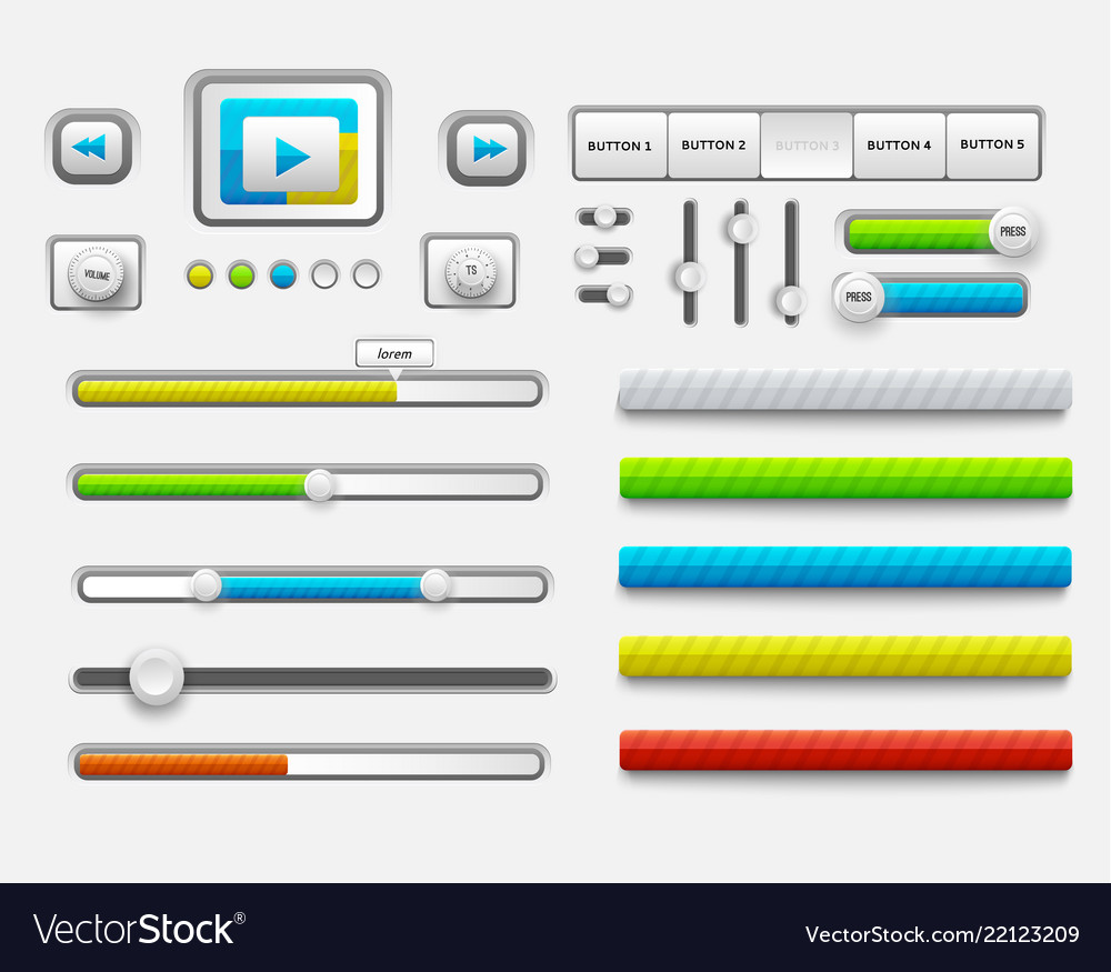 3d chart diagram business presentation realistic