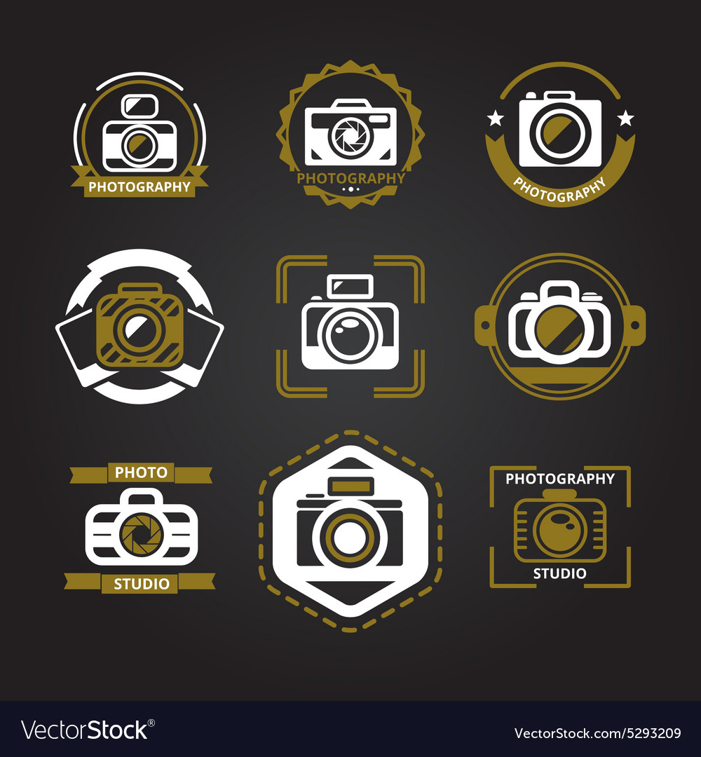 Logos or icons for photographers