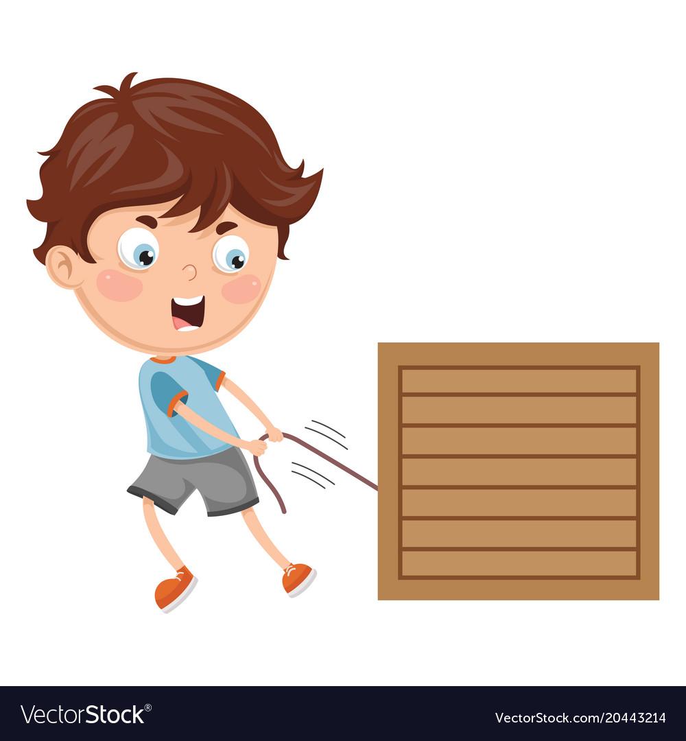 Kid pulling