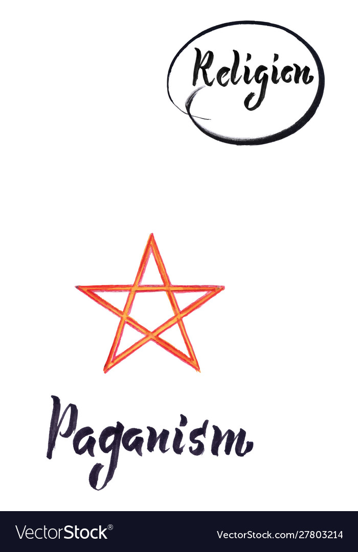 Religious sign-paganism