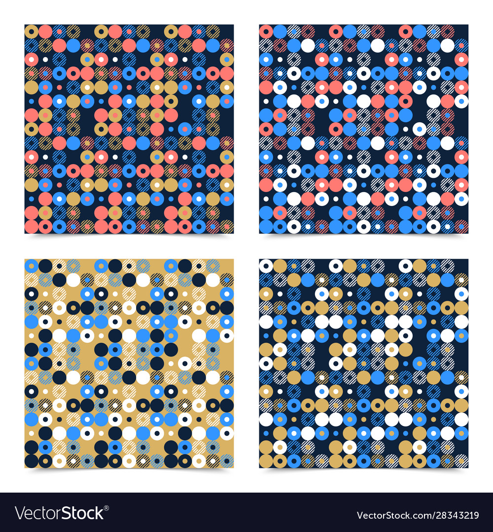 Abstract background seamless pattern made