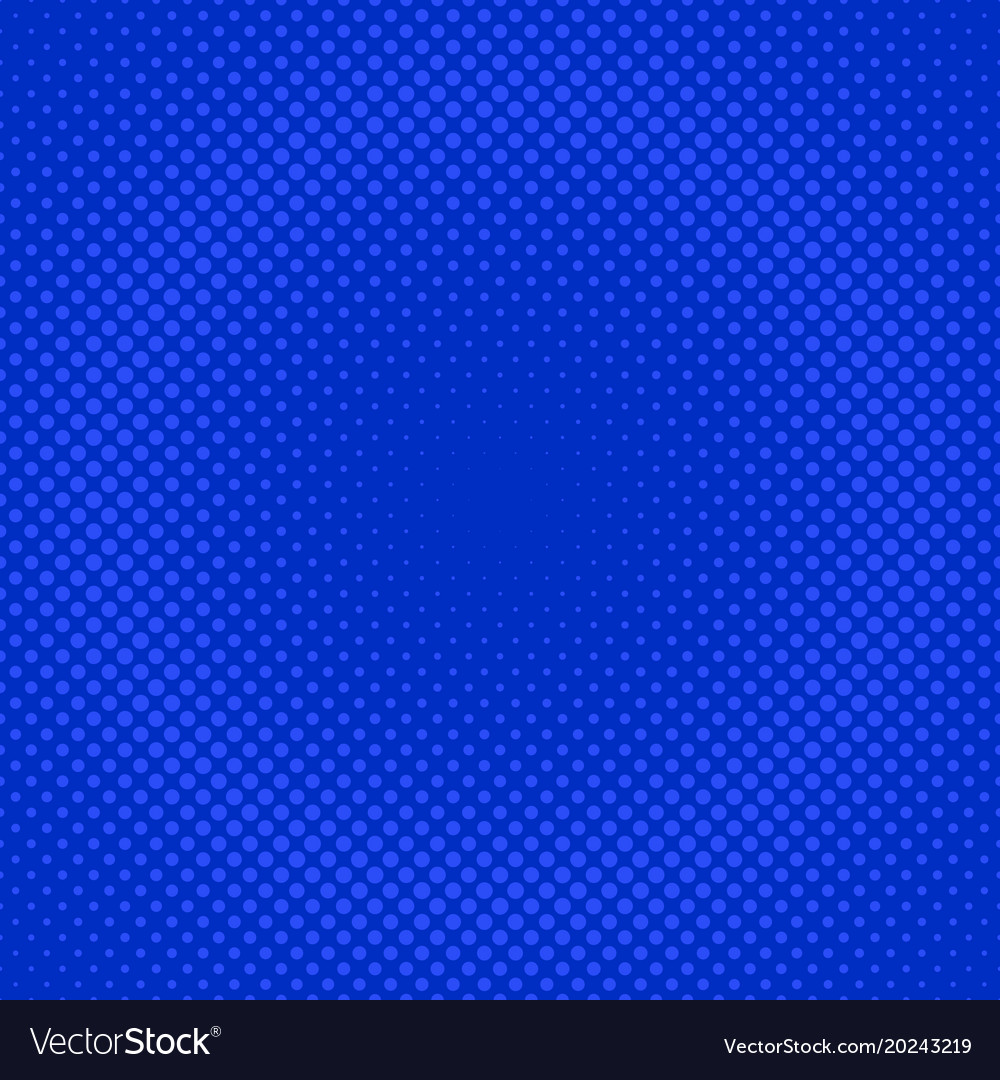 Abstract geometric halftone dot pattern vector image