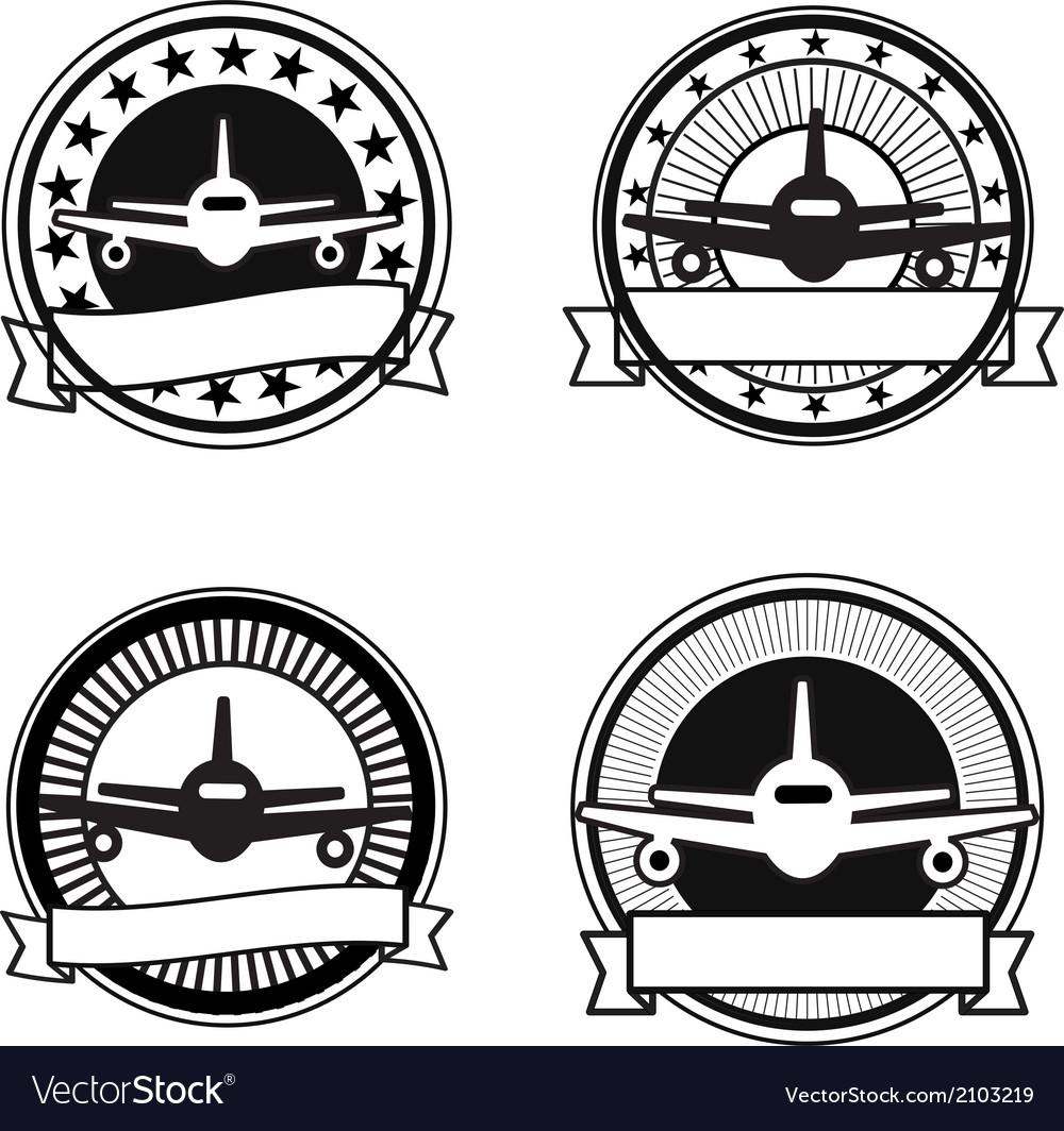 Air travel badges