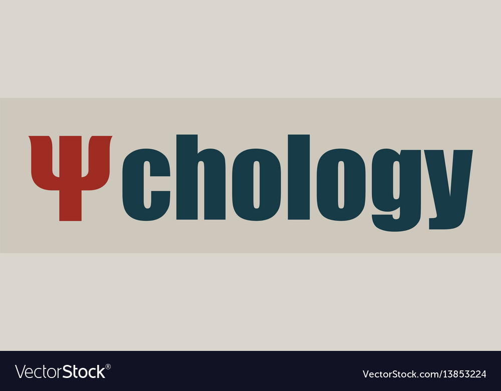 Psi symbol as the beginning of a psychology word