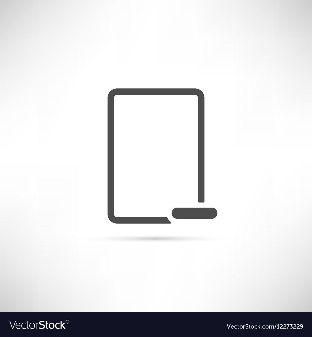 Empty Minus Icon