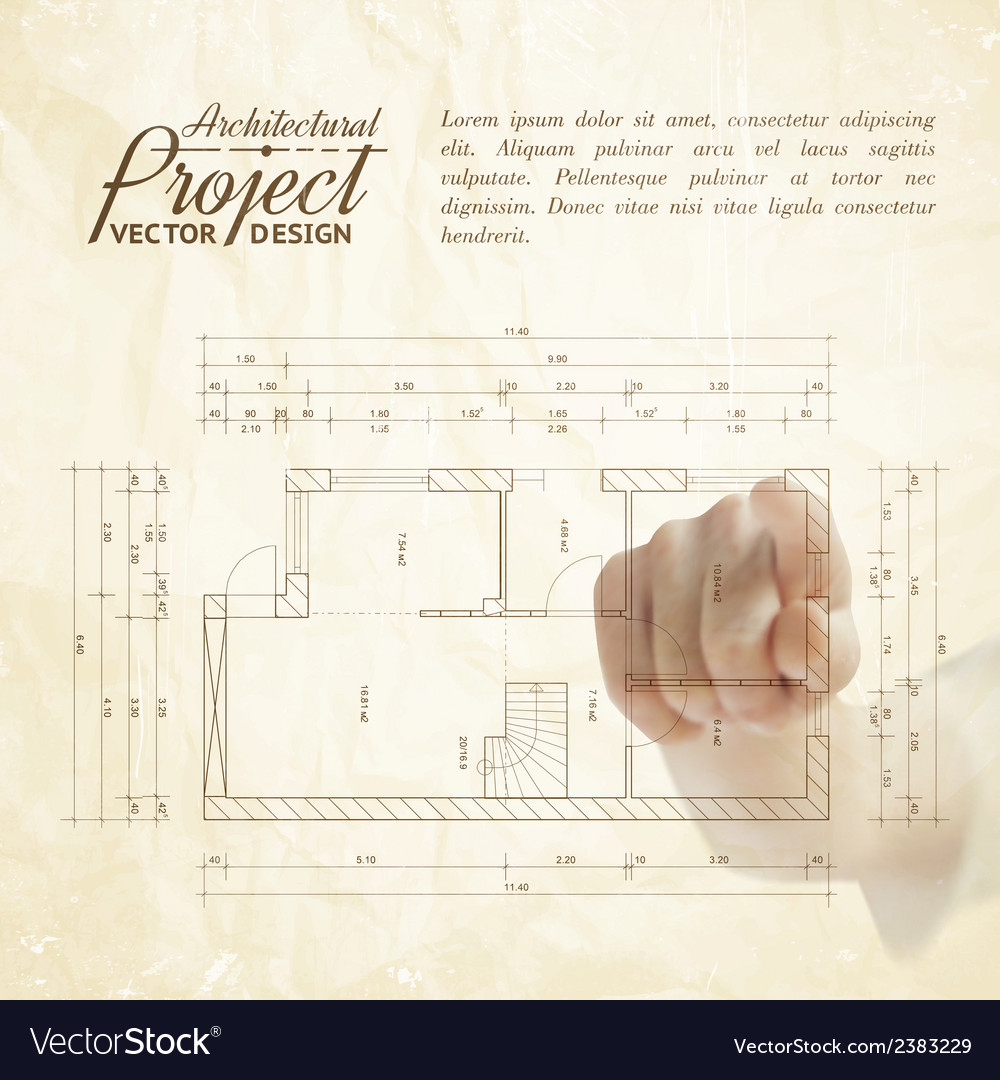 Human hand pointing architecture
