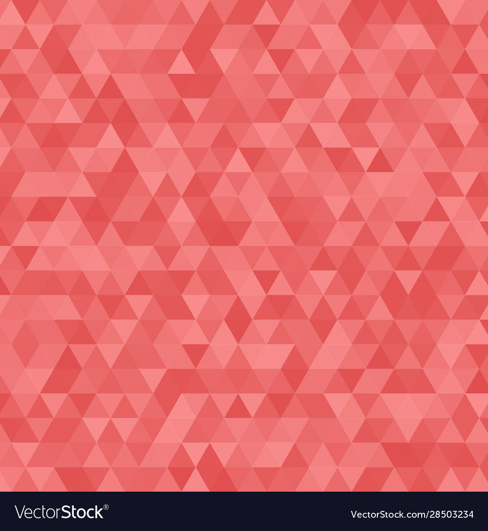 Abstract red triangle background geometric