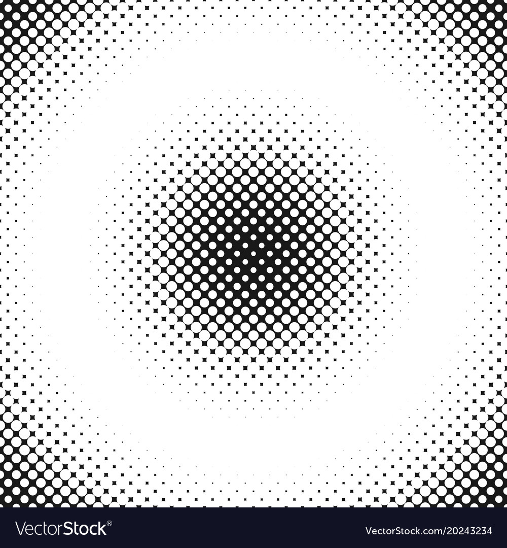 Halftone circle pattern background design