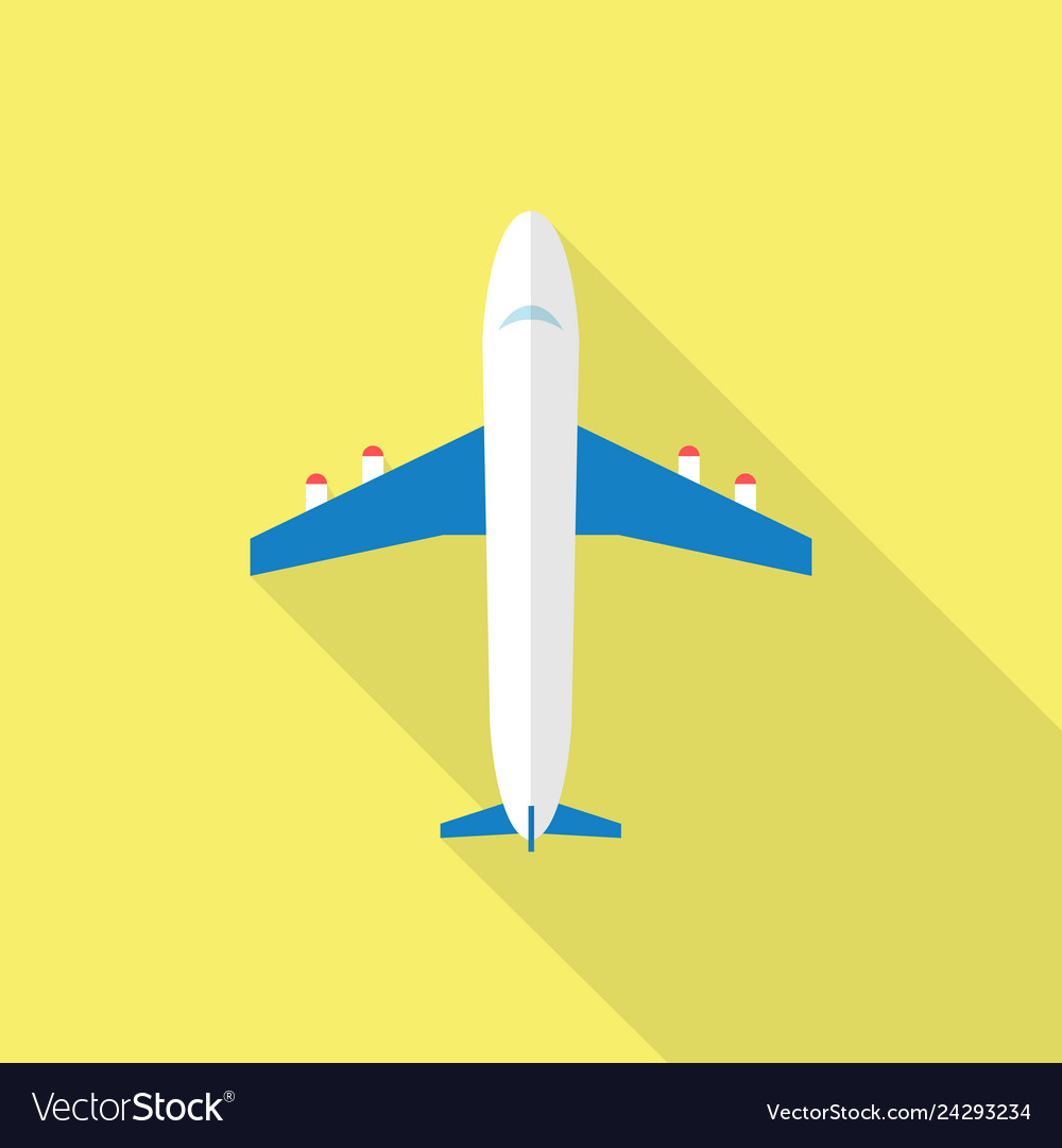 Plane icon set of great flat icons with style