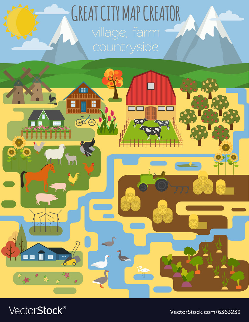 Great city map creator Village farm countryside on world map outline, map marker, map scale, map of africa, map making, map of c, map of germany, map background, map name, map world, map of us national parks, map of westeros, map north, site map creator, map title, map layers, map star, map pushpin icon, map country, map colors, map of europe and united states, grid map, map illustrator, map projection, map history, map of canada,