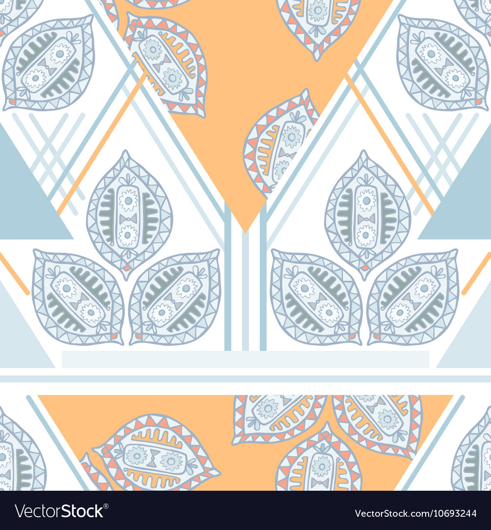 Colorful seamless ethnic pattern Decorative