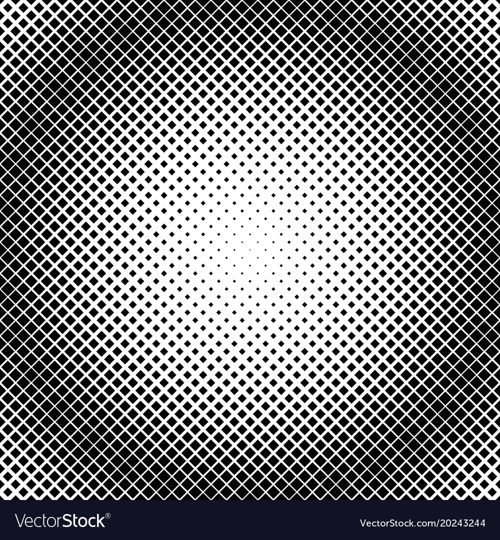 Halftone square pattern background template