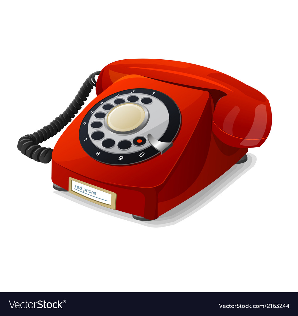 Phone red