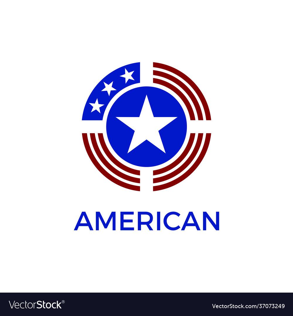 America circle shield logo