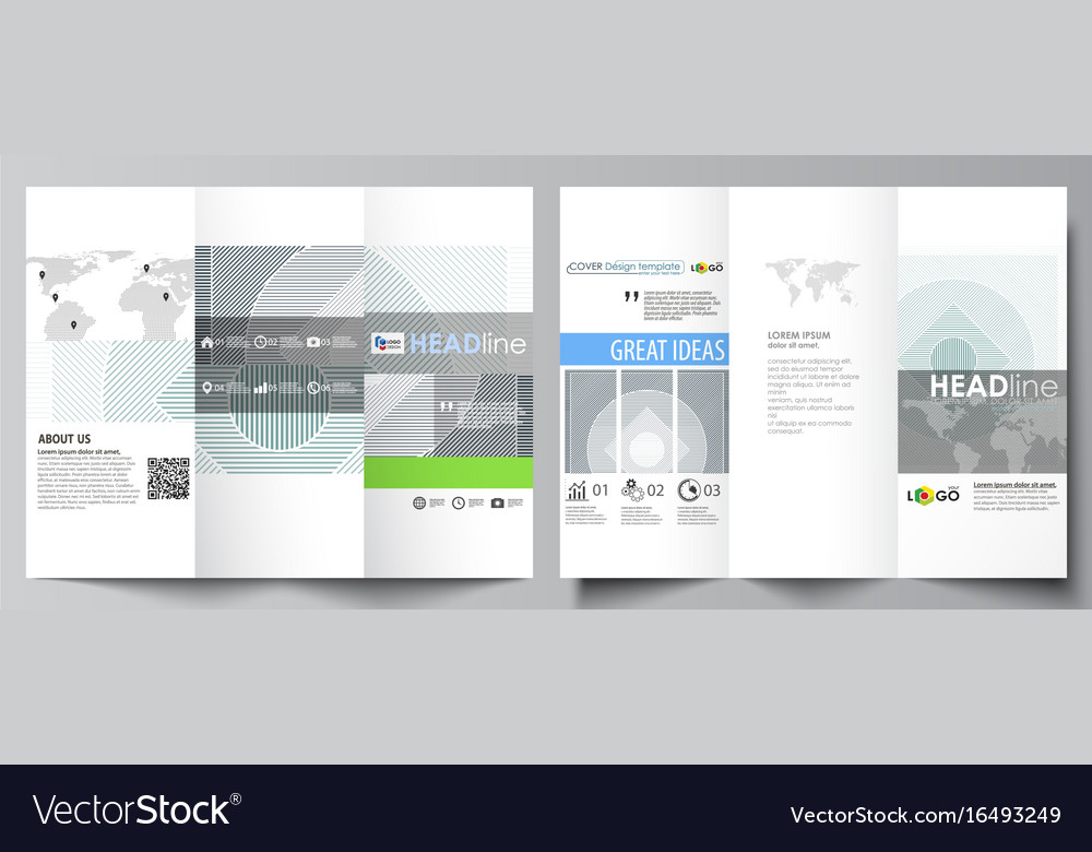Tri Fold Brochure Business Templates On Both Sides