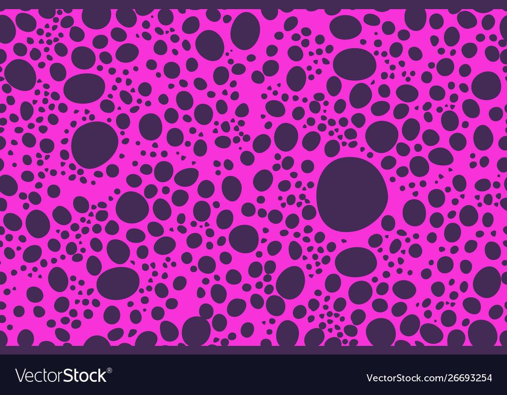 Pink circles animal skin seamless pattern texture