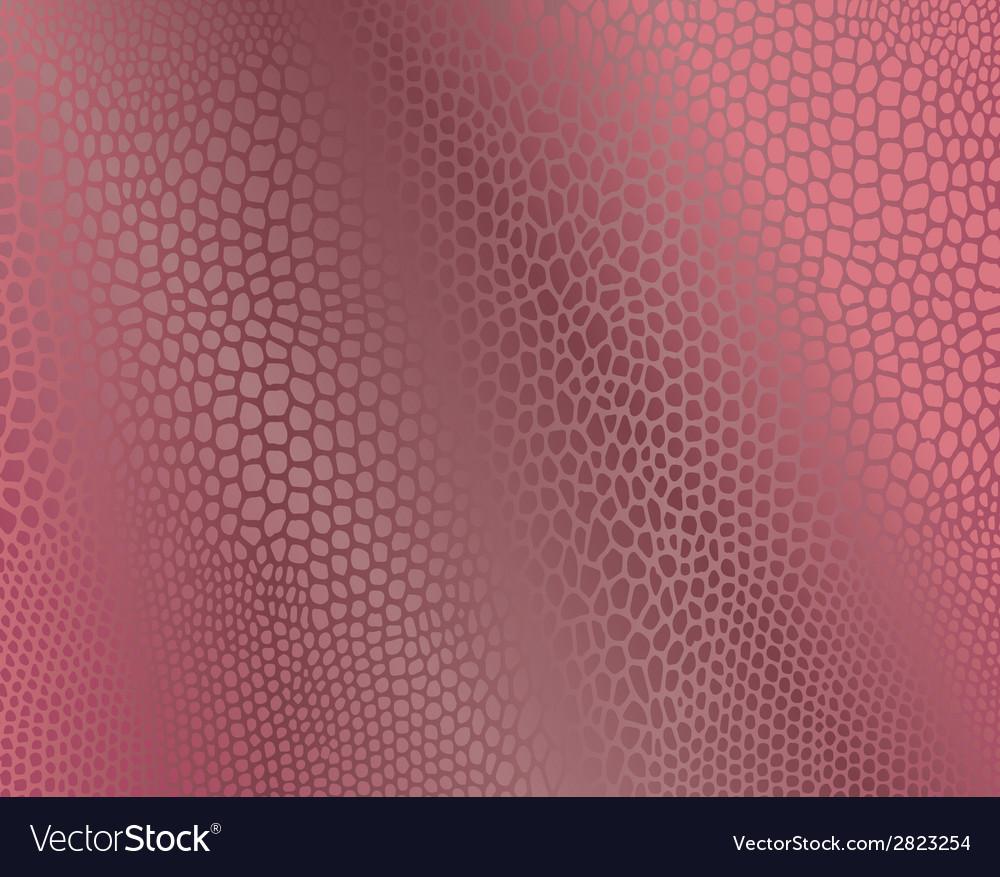 Pink snake skin imitation background