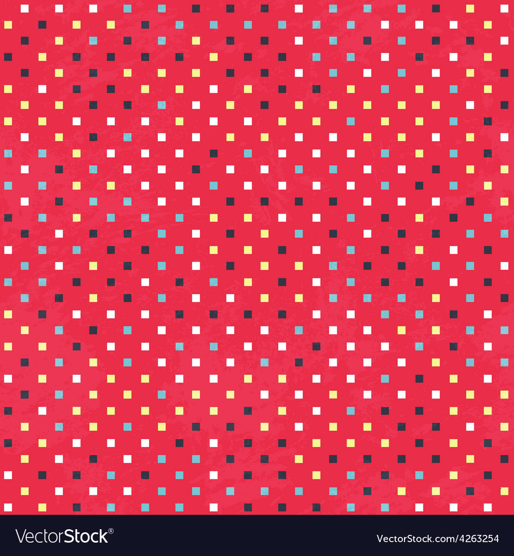 Red dots texture with grunge effect