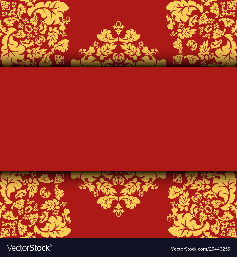 Greeting card invitation card and background Vector Image