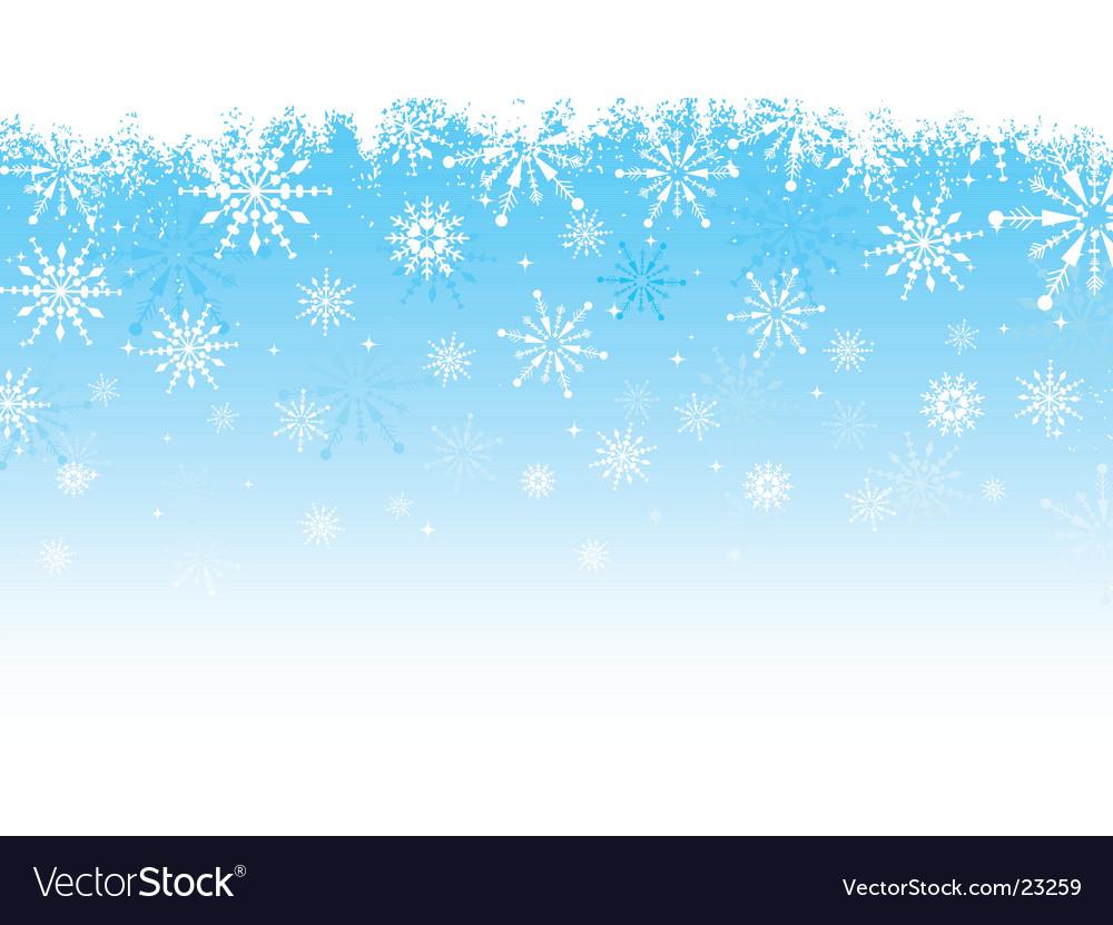Grunge snowflake design vector image