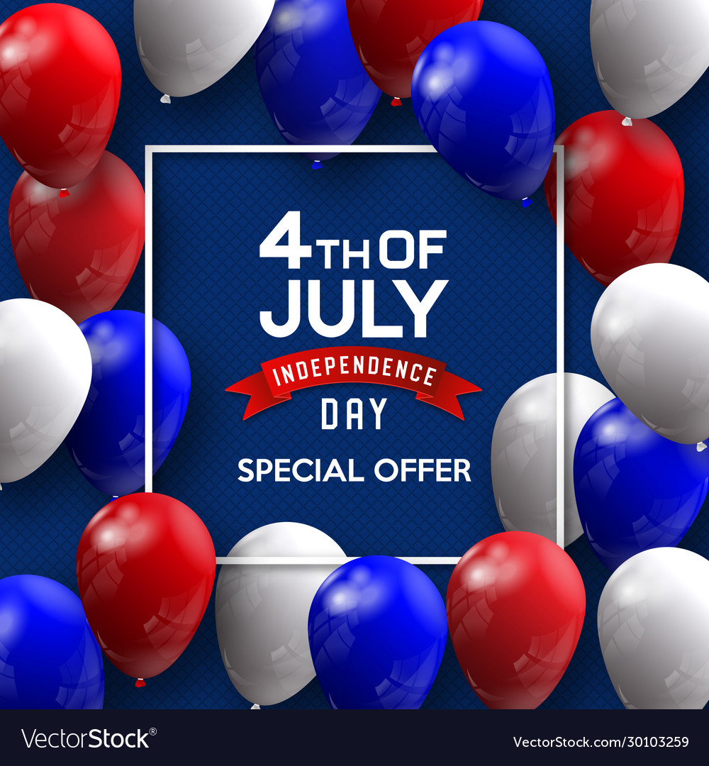 Independence day 4 th july happy day
