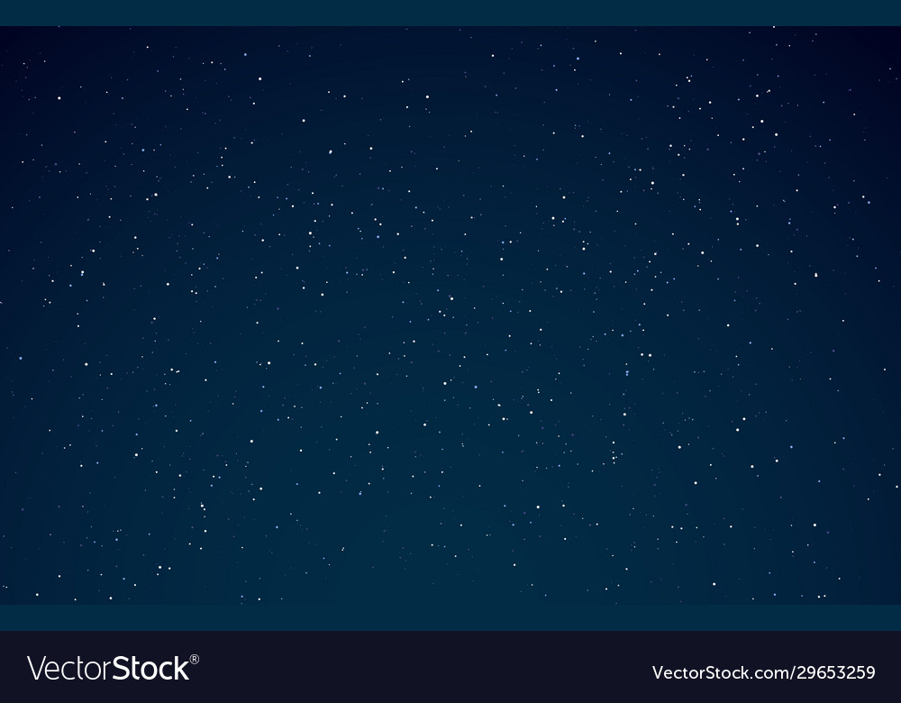 Night sky starry galaxy night universe
