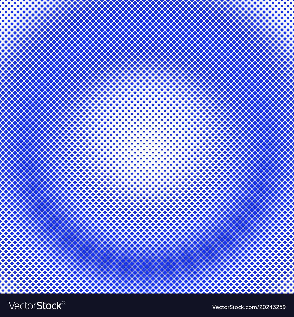 Retro halftone diagonal square pattern background
