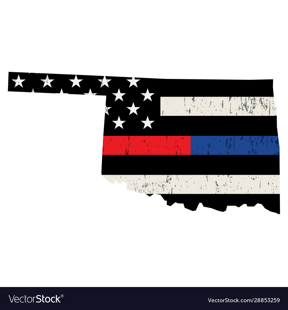 State oklahoma police and firefighter support