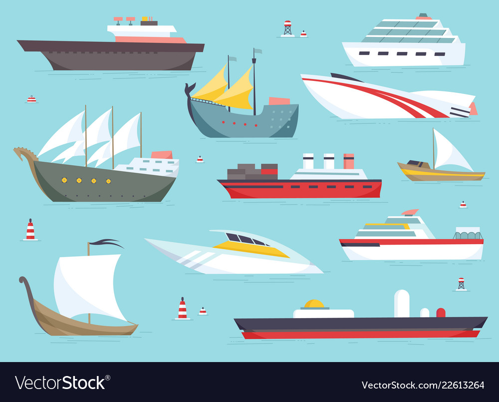 Ships at sea shipping boats ocean transport