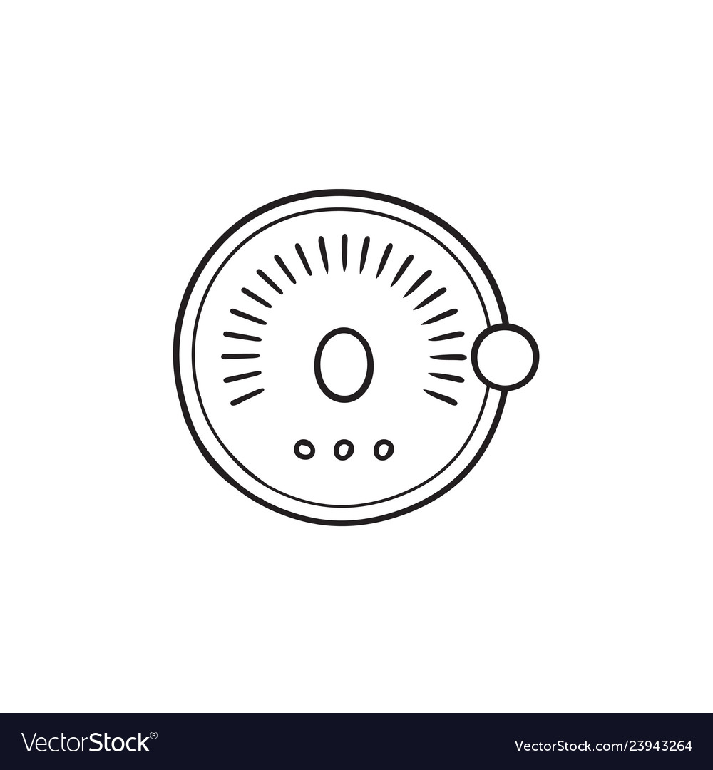 Smart lock hand drawn outline doodle icon set