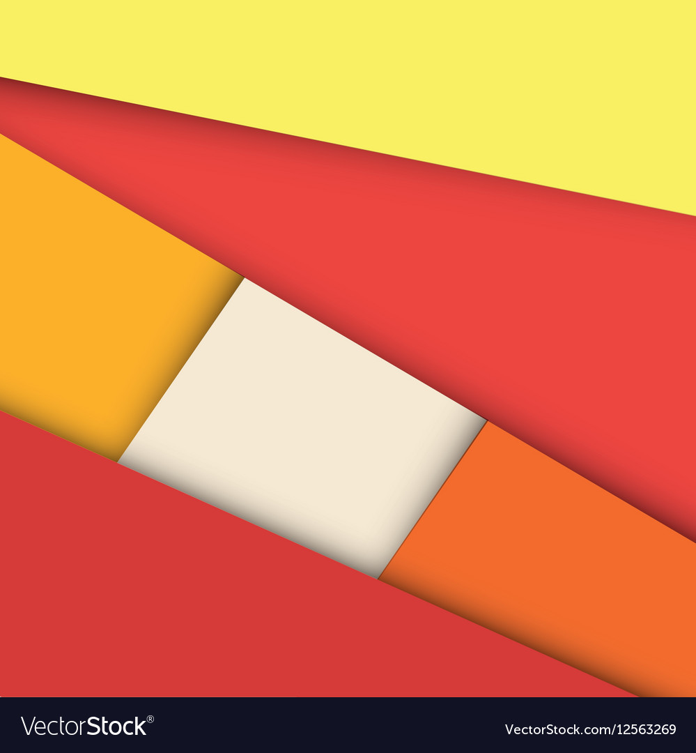 Colorful geometry shapes background vector image