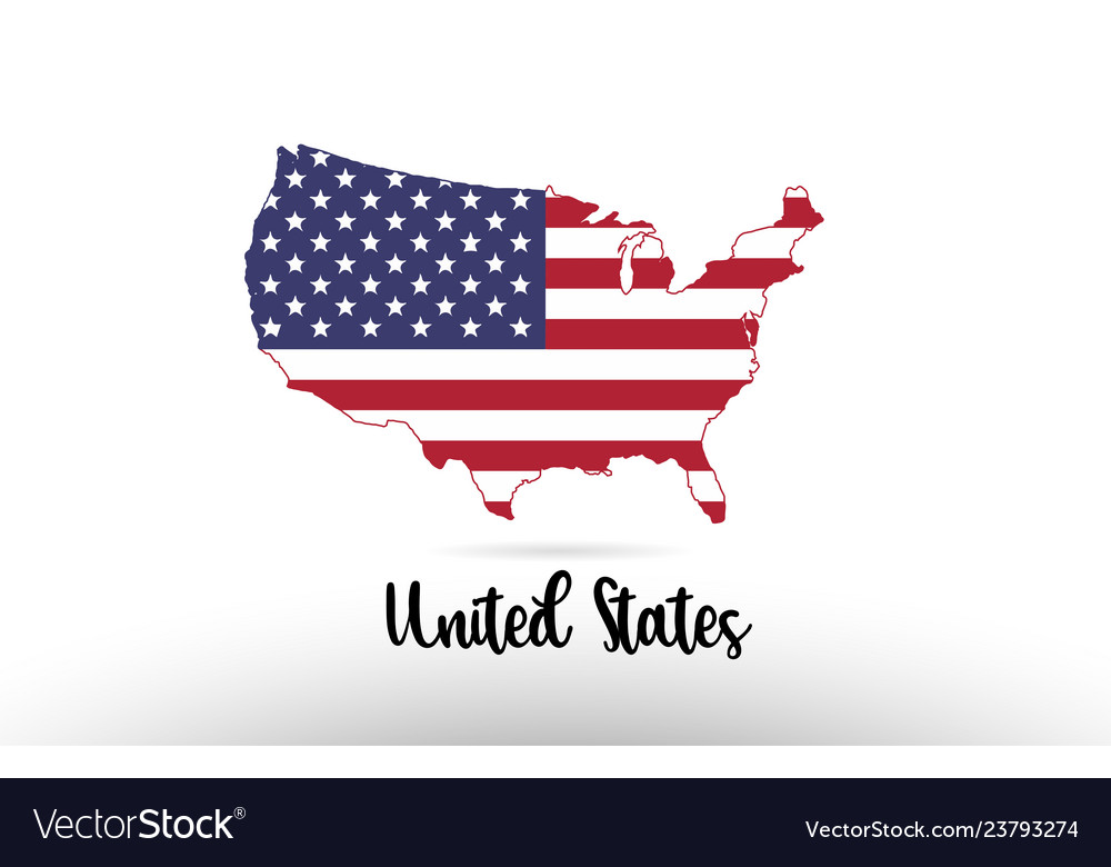 Map Of United States Of America Images.United States America Usa Country Flag Inside Map