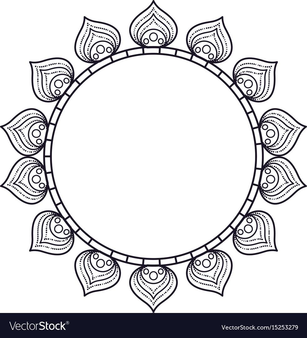 Cirular lace mandala style