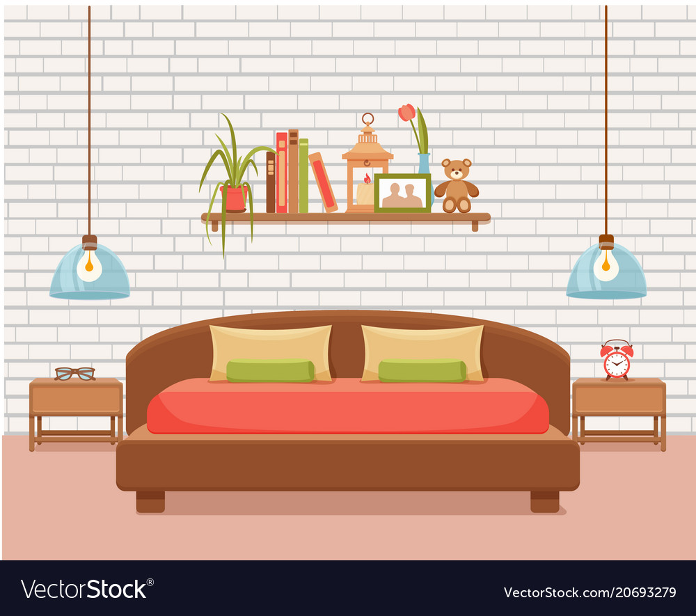 Colorful of hotel apartment furniture