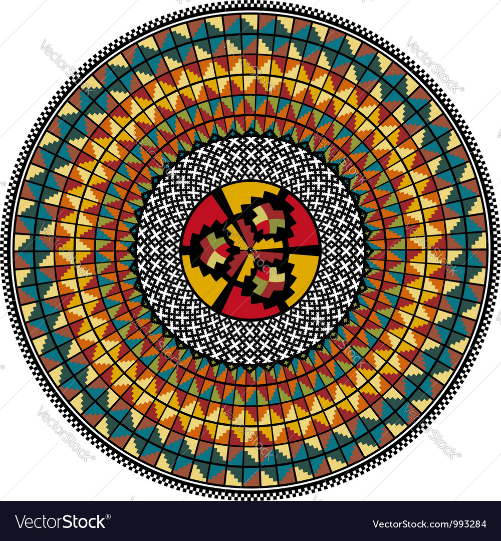 Inca iconography vector image