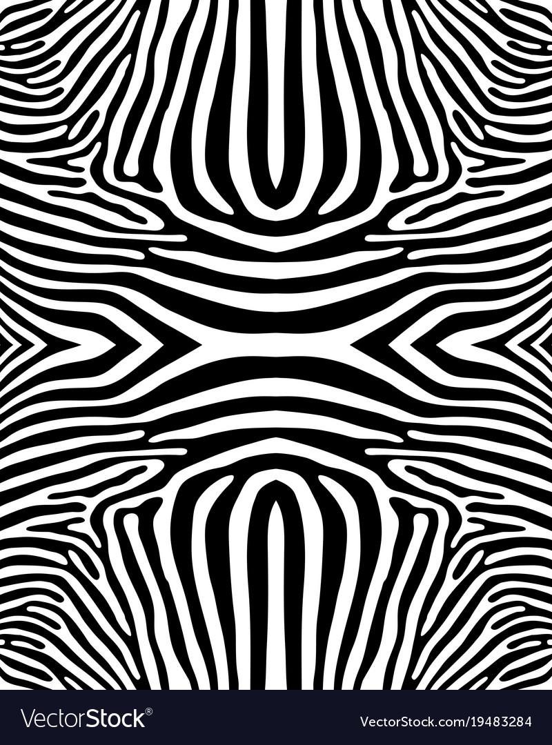 Zebra Pattern Custom Design
